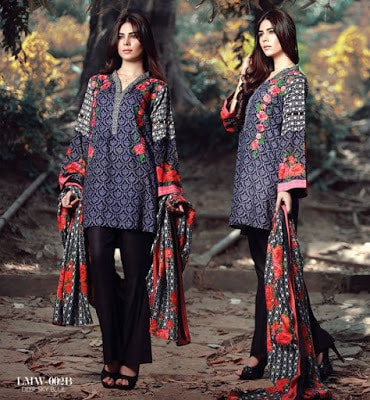 Lala-La-Moderno-winter-embroidered-khaddar-wool-shawl-dresses-collection-2016-2