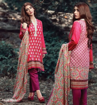 Lala-La-Moderno-winter-embroidered-khaddar-wool-shawl-dresses-collection-2016-4
