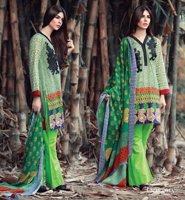 Lala-La-Moderno-winter-embroidered-khaddar-wool-shawl-dresses-collection-2016-5