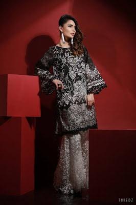 thredz-black-&-white-unstitched-formal-winter-dresses-collection-2016-5