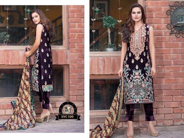 Shaista-latest-silk-velvet-dresses-winter-collection-2016-2017-for-women-12