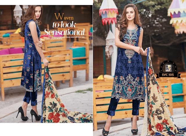 Shaista-latest-silk-velvet-dresses-winter-collection-2016-2017-for-women-14