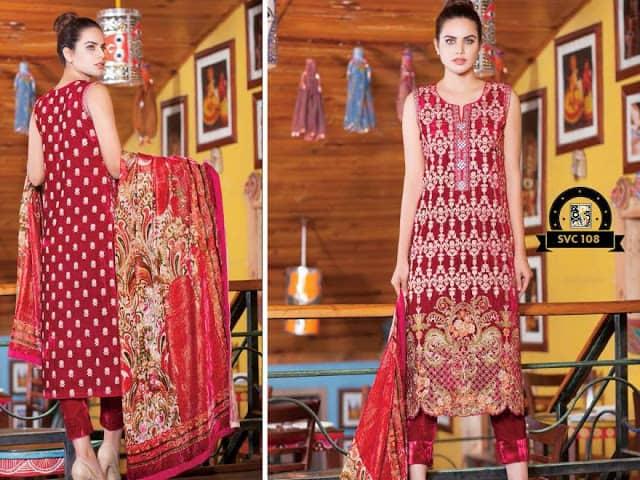 Shaista-latest-silk-velvet-dresses-winter-collection-2016-2017-for-women-16