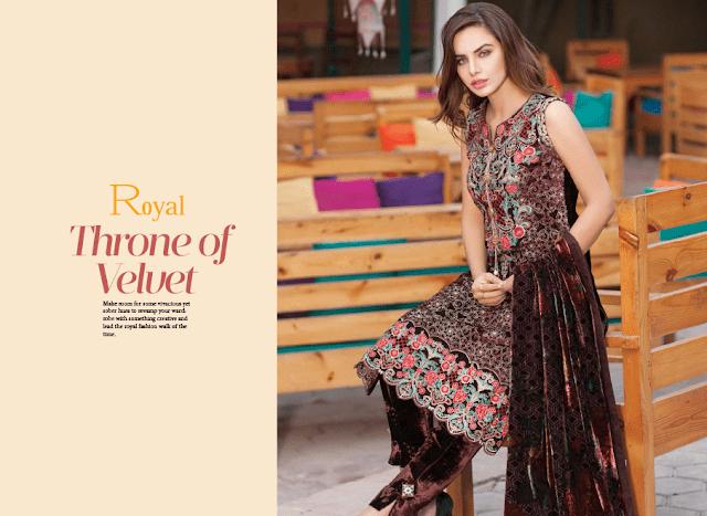Shaista-latest-silk-velvet-dresses-winter-collection-2016-2017-for-women-17