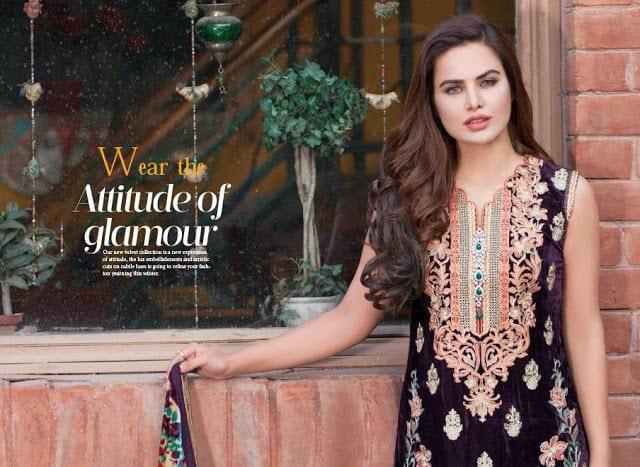 Shaista-latest-silk-velvet-dresses-winter-collection-2016-2017-for-women-3