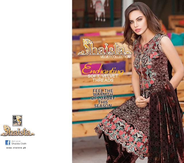 Shaista-latest-silk-velvet-dresses-winter-collection-2016-2017-for-women-7