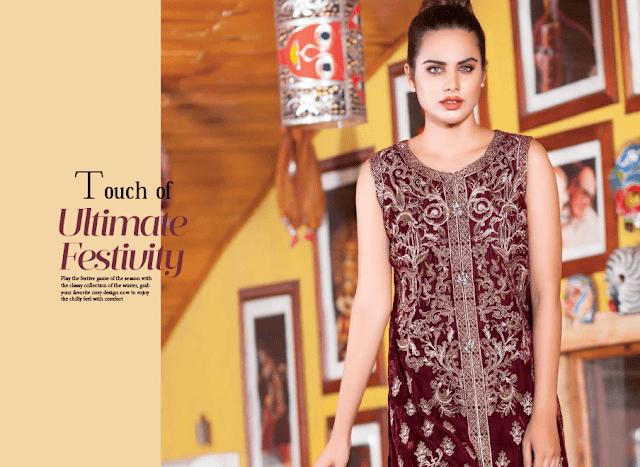 Shaista-latest-silk-velvet-dresses-winter-collection-2016-2017-for-women-9