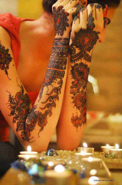 best-and-simple-Indian-bridal-mehndi-designs-for-hands-for-beginner-12