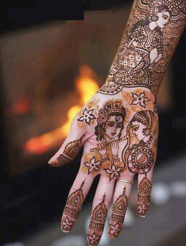 best-and-simple-Indian-bridal-mehndi-designs-for-hands-for-beginner-14