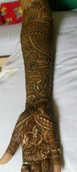 best-and-simple-Indian-bridal-mehndi-designs-for-hands-for-beginner-21