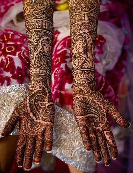 best-and-simple-Indian-bridal-mehndi-designs-for-hands-for-beginner-22