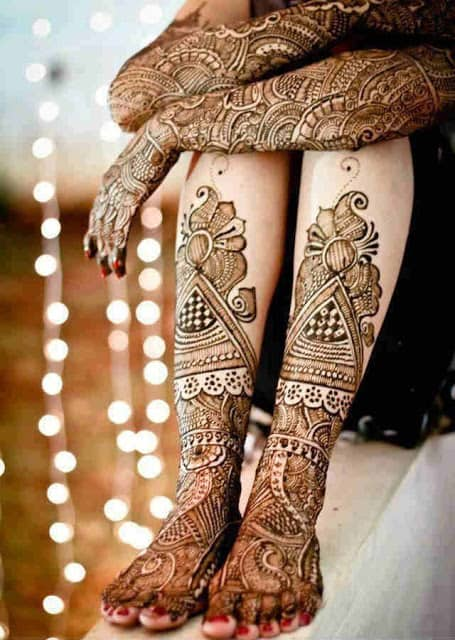 best-and-simple-Indian-bridal-mehndi-designs-for-hands-for-beginner-24