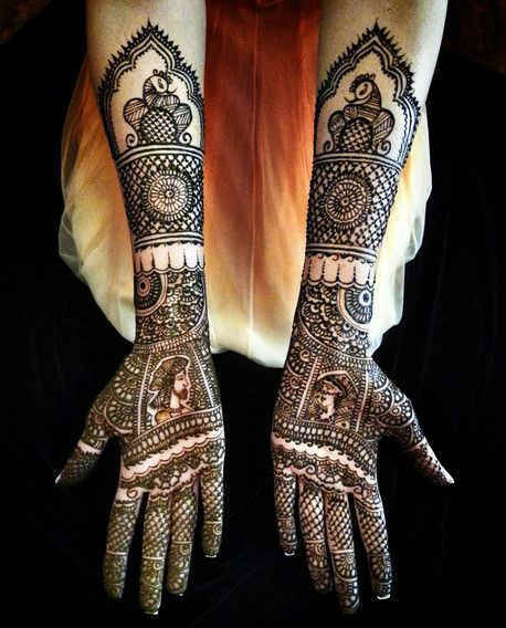 best-and-simple-Indian-bridal-mehndi-designs-for-hands-for-beginner-3