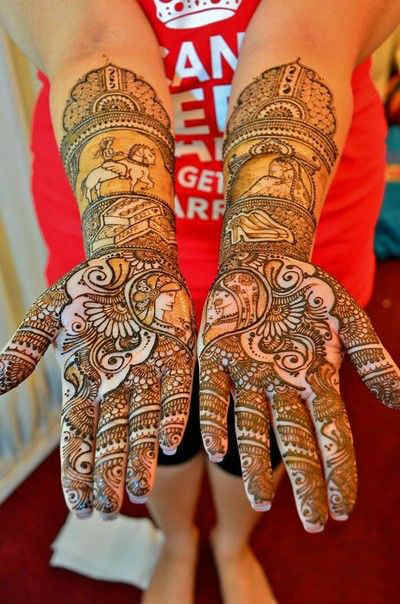 best-and-simple-Indian-bridal-mehndi-designs-for-hands-for-beginner-8