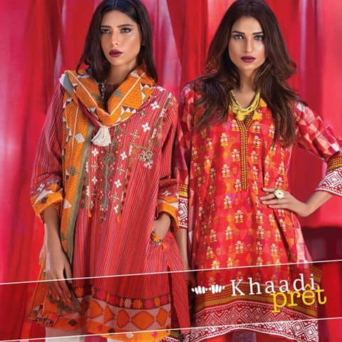 khaadi-winter-pret-wear-kurta-dress-collection-2016-17-for-women-1