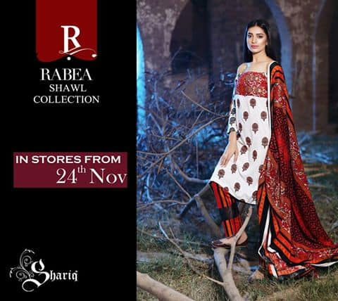shariq-textiles-rabea-new-winter-shawl-dresses-collection-2017-for-girls-1
