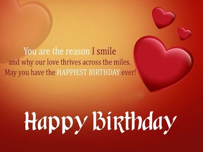 cute happy birthday wishes for girlfriend