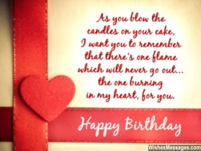 happy birthday wishes for girlfriend on facebook