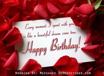happy birthday wishes for girlfriend in english