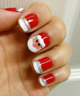 classy-and-stylish-christmas-nail-art-designs-for-girls-18