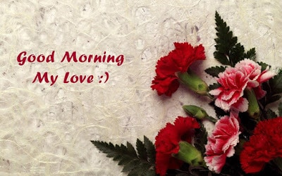 good morning message to lover
