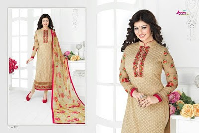 Indian-latest-embroidered-designs-chiffon-dresses-collection-2017-by-Aarohi-1