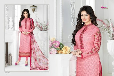 Indian-latest-embroidered-designs-chiffon-dresses-collection-2017-by-Aarohi-3
