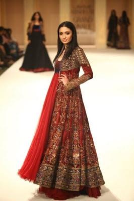New-Stylish-Designer-Floor-Length-Anarkali-Wedding-Dresses-Collection-17