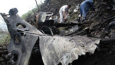 PIA PK-661 No Survivors, Aircraft Crashes Near Abbottbad (2)