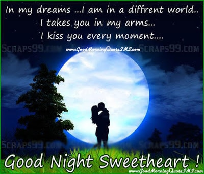 the sweetest way to say goodnight