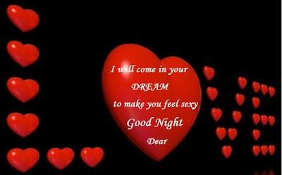 romantic good night love messages