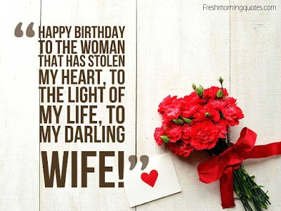 romantic birthday wishes for wife quotes