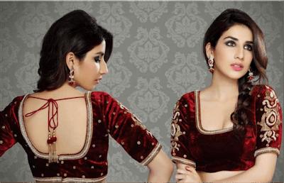 Top-indian-designer-choli-and-bridal-lehenga-blouse-designs-2016-17-3