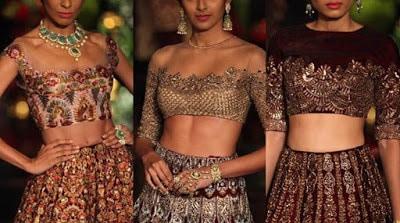 Top-indian-designer-choli-and-bridal-lehenga-blouse-designs-2016-17-4