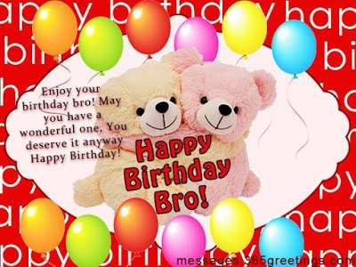 happy birthday wishes for brother on facebook