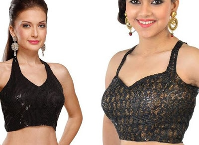 Indian-latest-fancy-sleeveless-blouse-designs-for-sarees-10