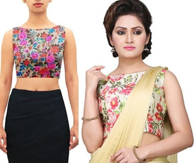 Indian-latest-fancy-sleeveless-blouse-designs-for-sarees-11