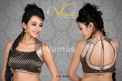 Indian-latest-fancy-sleeveless-blouse-designs-for-sarees-15