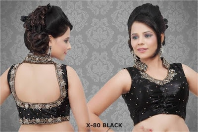 Indian-latest-fancy-sleeveless-blouse-designs-for-sarees-16