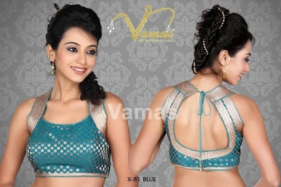Indian-latest-fancy-sleeveless-blouse-designs-for-sarees-17