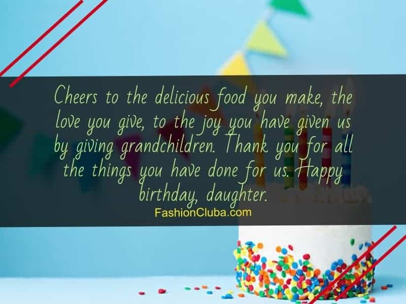lovely birthday wishes for daughter-in-law