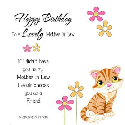 happy birthday to my future mother in law quotes