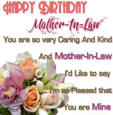 how to say happy birthday to your mother in law