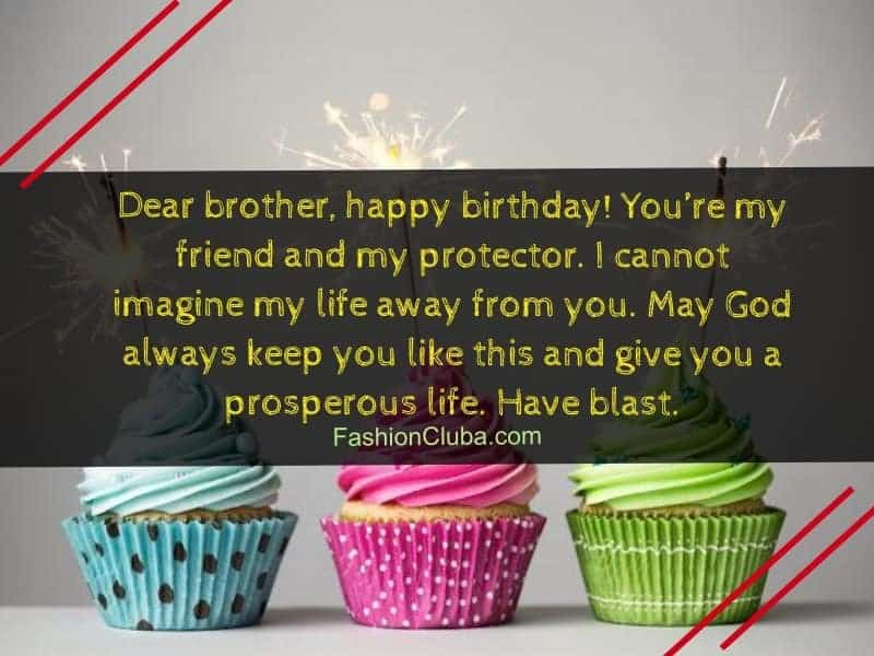 cute birthday wishes for brother