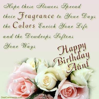 happy birthday wishes aunty quotes