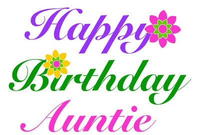 happy birthday wishes quotes for aunt