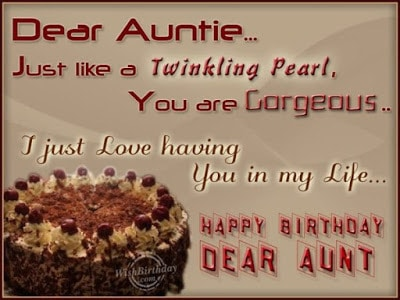 happy birthday messages for a special aunt
