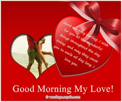 good morning message with love