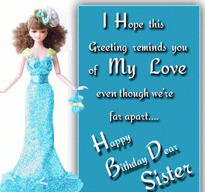 happy birthday to the best sister in the world quotes