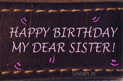 how to wish your sister a happy birthday on facebook